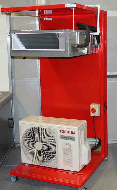 Toshiba training and test rig for SkillFRIDGE