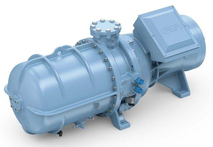 compressor ammonia refrigerant