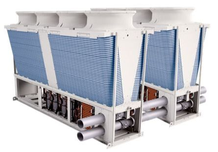 air conditioning modular chiller space compact cooling urban