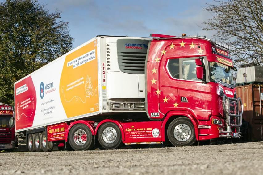 transport refrigeration haulier europe UK belgium netherlands cooling frozen
