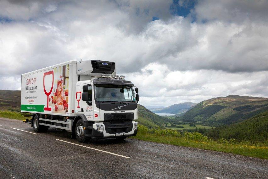 transport refrigeration scotland wholesale food