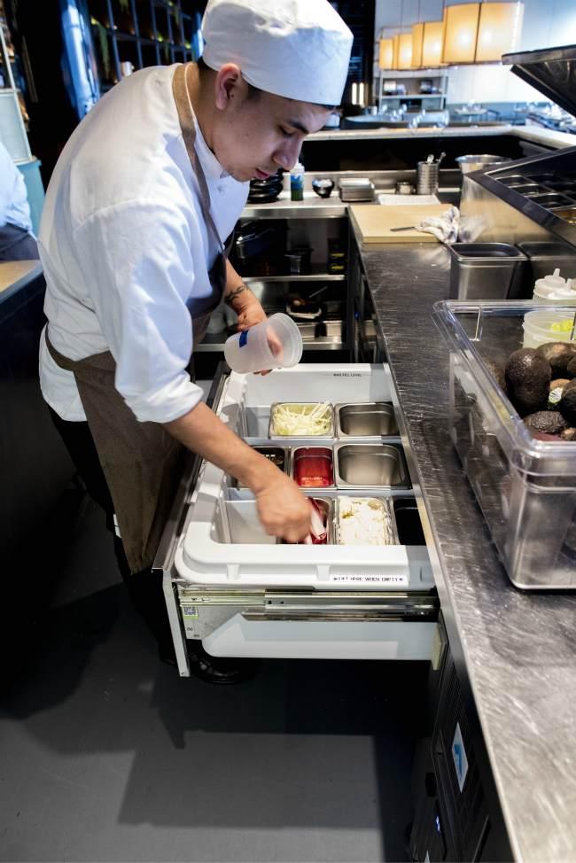 restaurant refrigeration drawer kitchen new york US USA