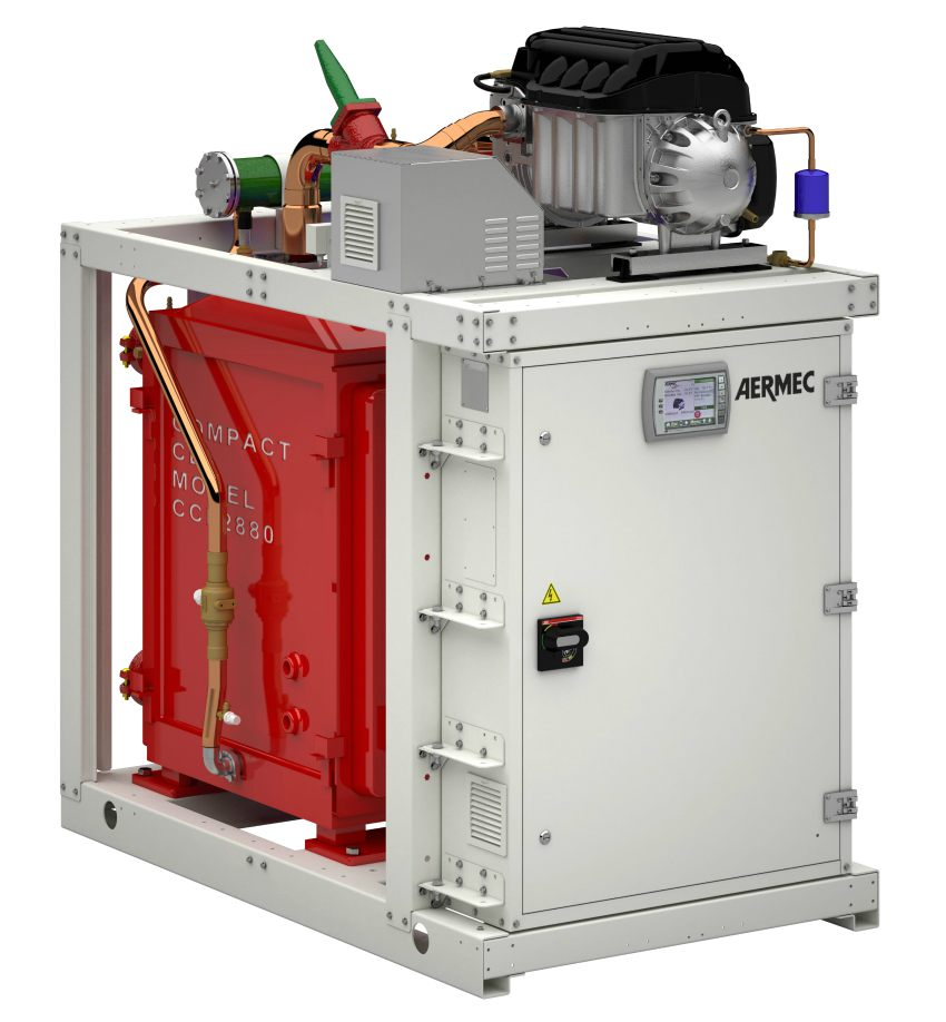aermec chiller low gwp water-cooled
