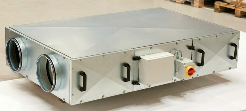 AHU air handling unit ventilation IAQ pollution health