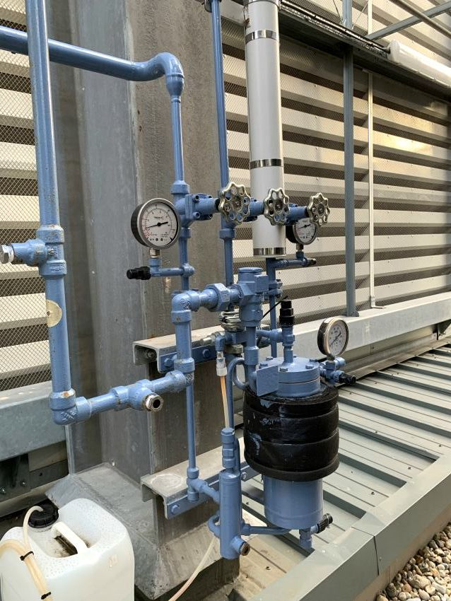 industrial refrigeration air purger costs energy efficiency