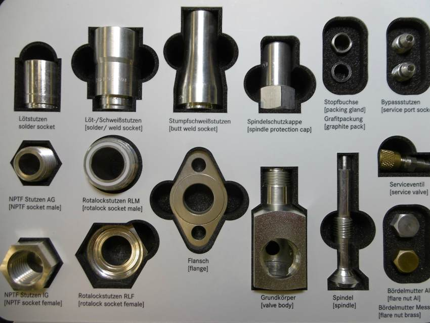 valves fittings manufacturing germany europe compressor