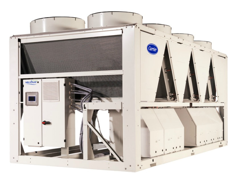 carrier chiller air-cooled scroll compressors