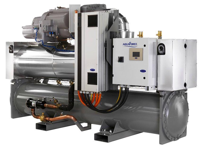 water-to-water water source heat pump carrier