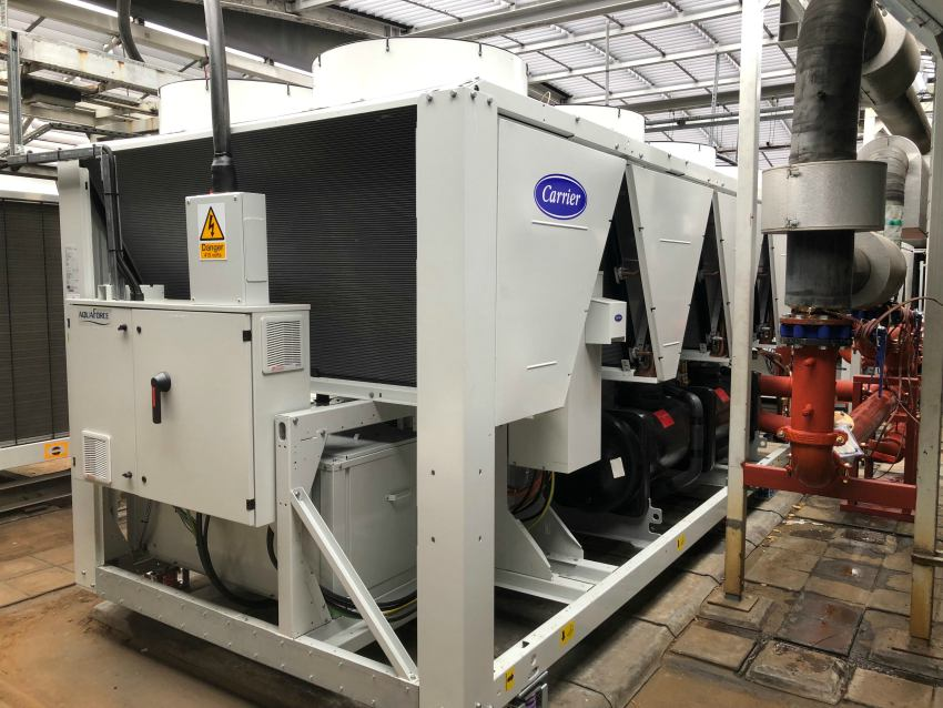 air conditioning cooling chiller contractor