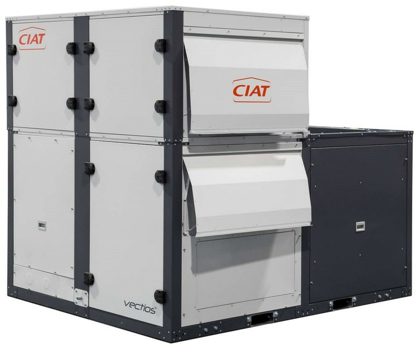 rooftop packaged unit ciat
