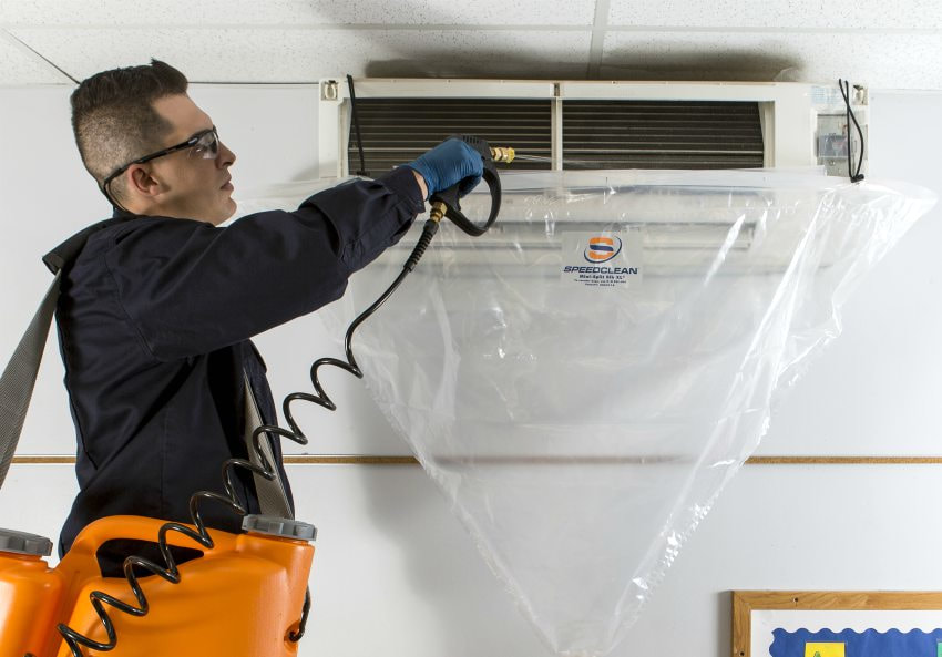 cleaning acr condenser coils evaporator air conditioning refrigeration