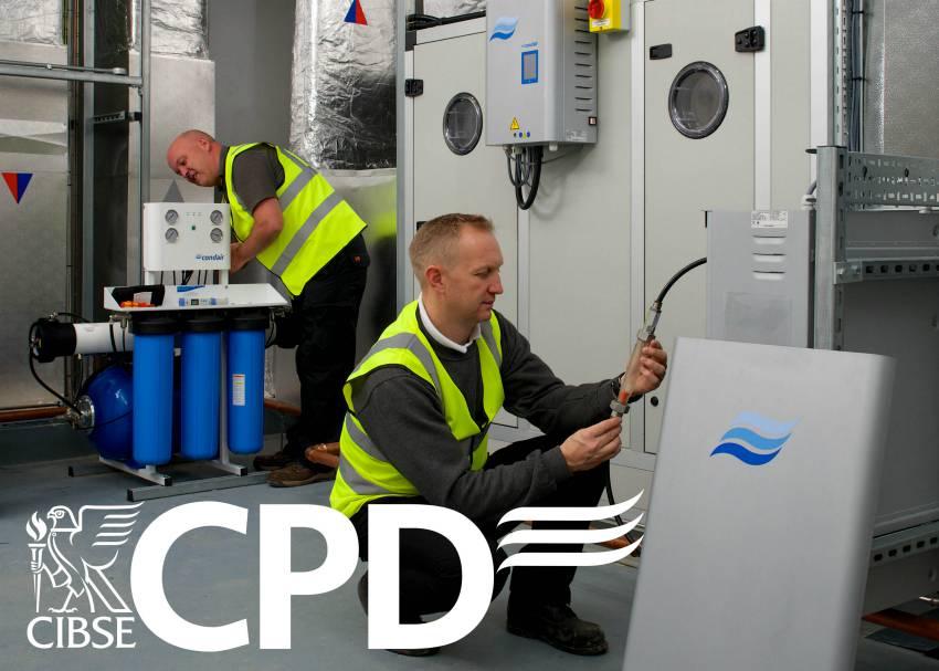 humidification condair training seminar cpd CIBSE