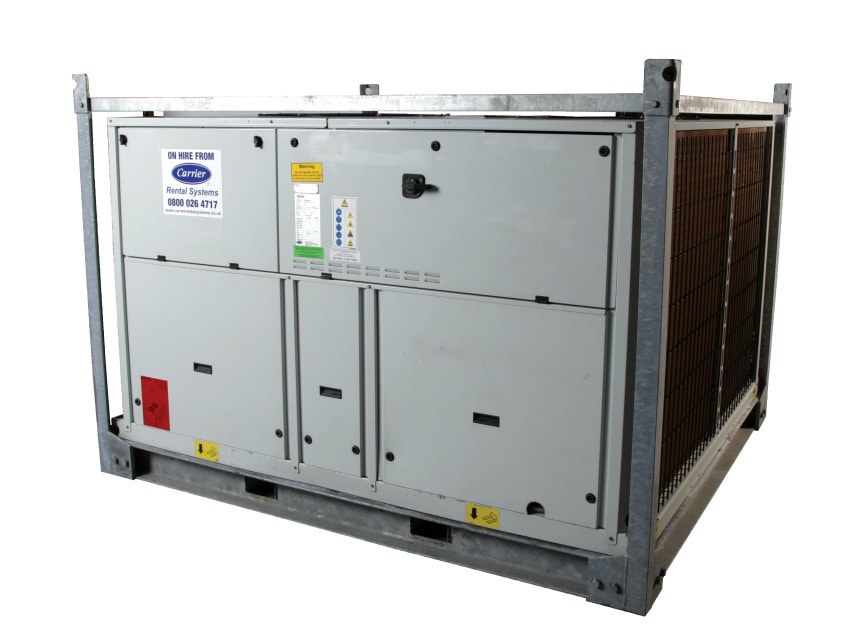 temporary cooling chiller hire supermarket distribution centre retail