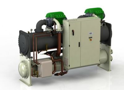 daikin chiller inverter water-cooled compact