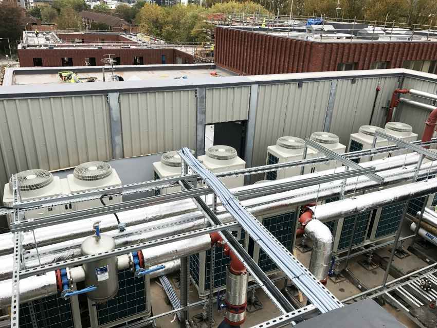 air source heat pump community heating non-domestic RHI energy efficiency renewables