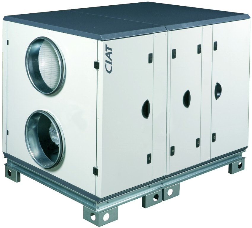 AHU direct expansion DX air conditioning air handling unit