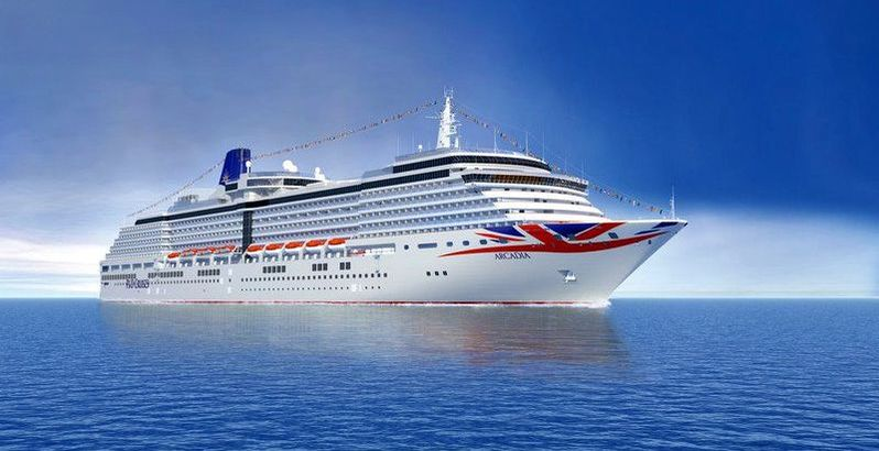 CO2 refrigeration system cruise ship