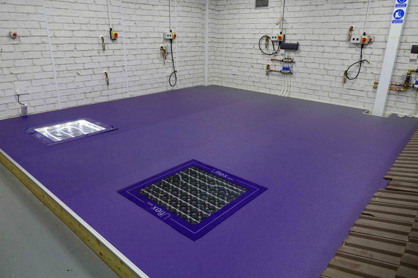 air source heat pump UFH underfloor heating training installer