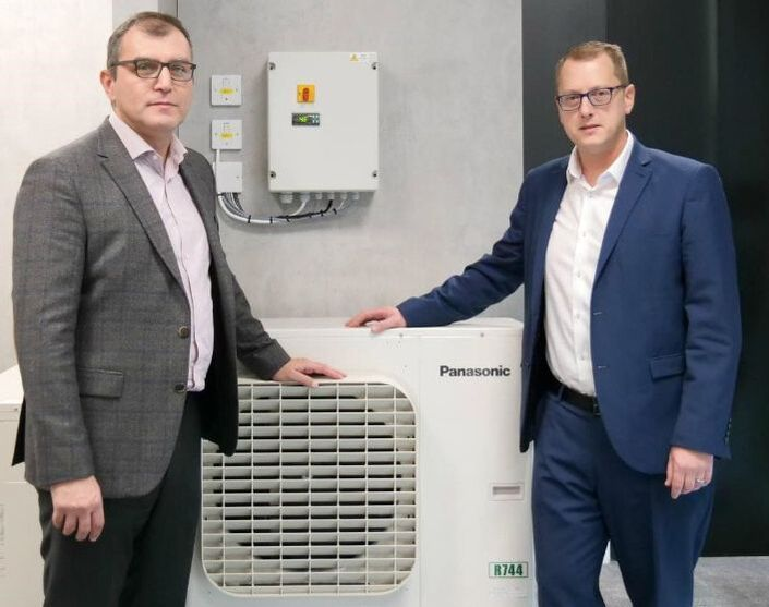 refrigeration condensing unit CO2 natural refrigerant commercial panasonic Hawco