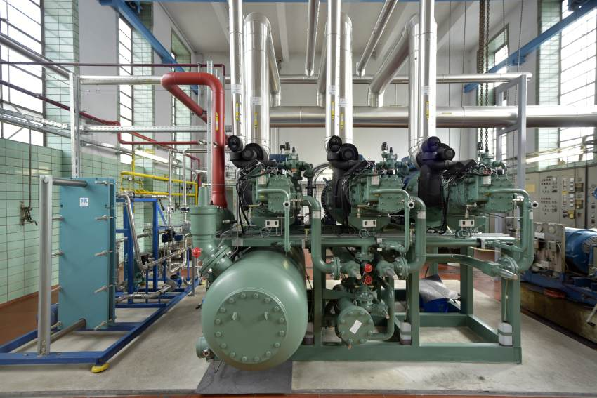 refrigeration ACP ammonia compressor meat processing germany cooling