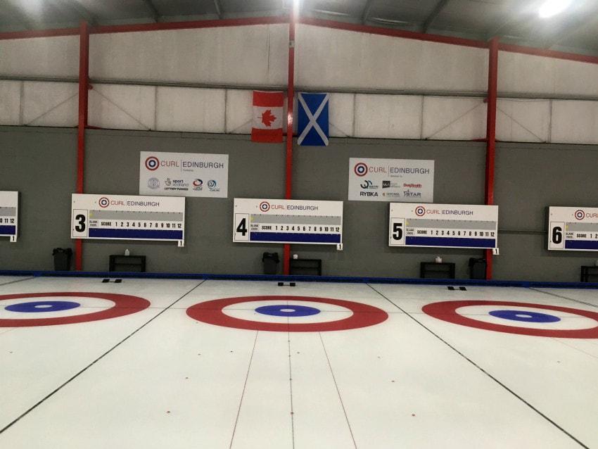 refrigeration ice rink curling scotland upgrade