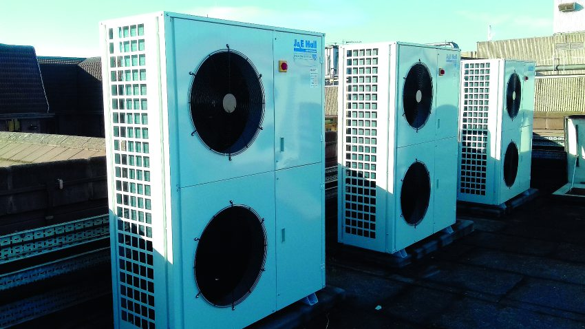 cooling refrigeration condensing unit ahu hospital  commercial installation