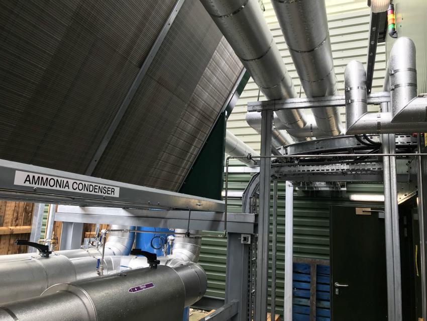 industrial refrigeration natural refrigerant ammonia environment