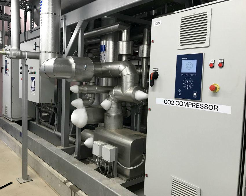 industrial refrigeration compressor refrigerant co2
