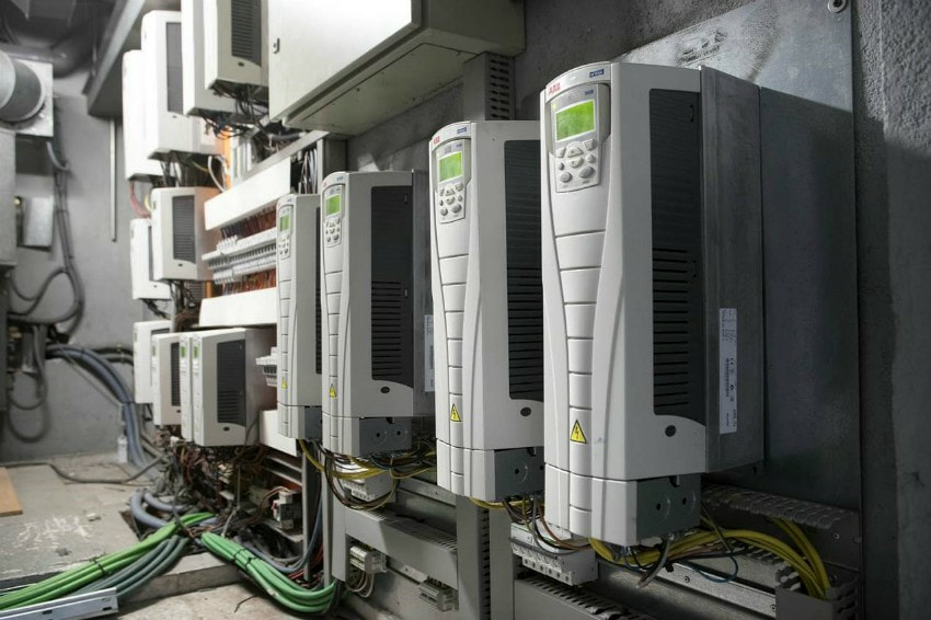 hotel spain HVAC variable speed drive