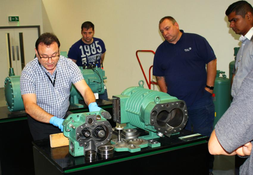 compressor engineer training maintenance refrigeration