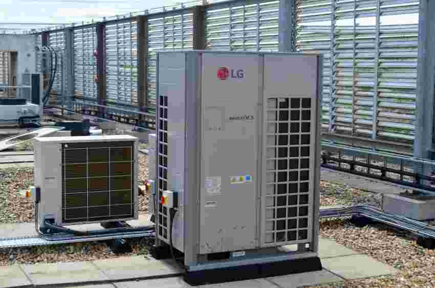 air conditioning VRF 3 pipe heat recovery climate control