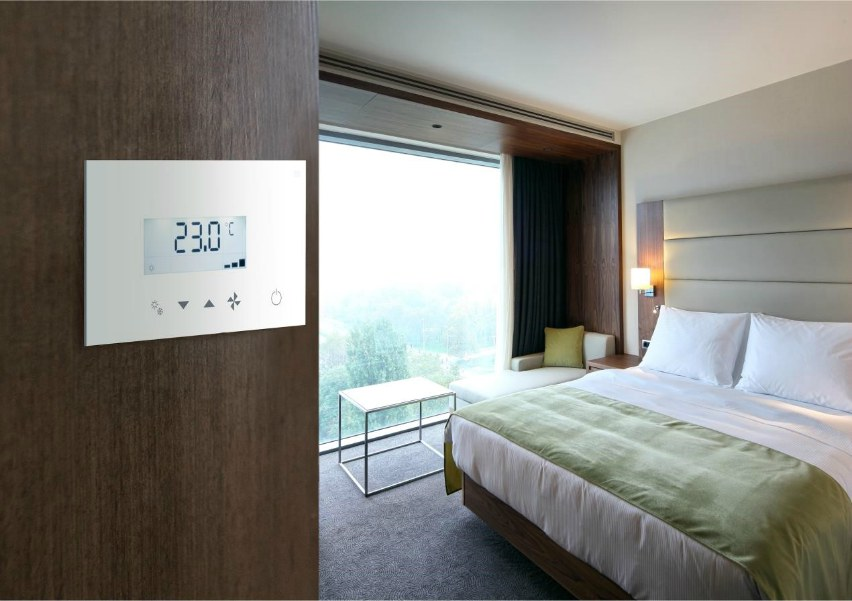 panasonic touch screen hotel control air conditioning