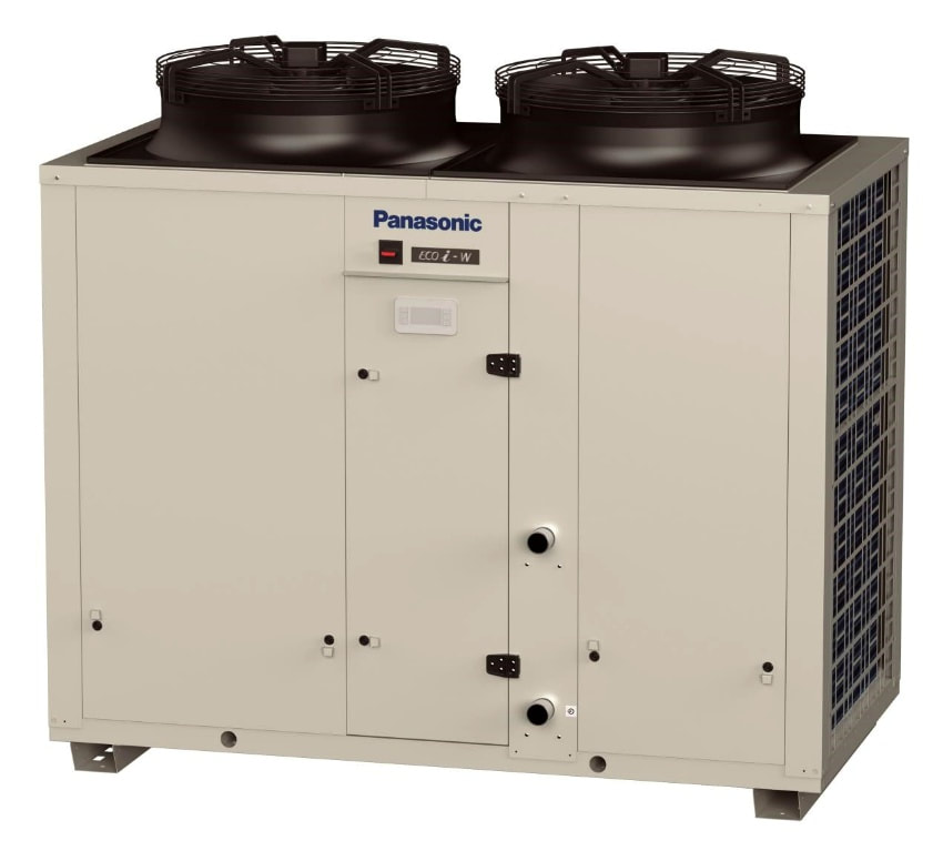 heat pump chiller cooling heating panasonic