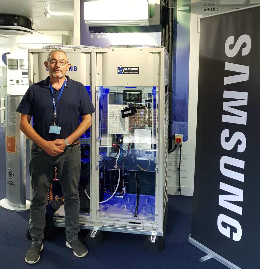 air conditioning training manufacturer samsung installer engineer