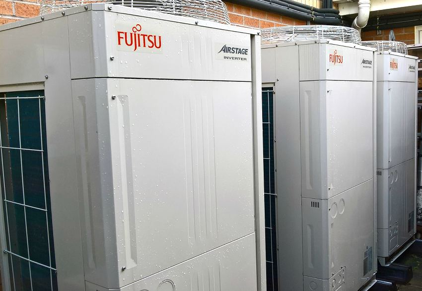 donna louise hospice air conditioning vrf fujitsu tf solutions pump house children donation
