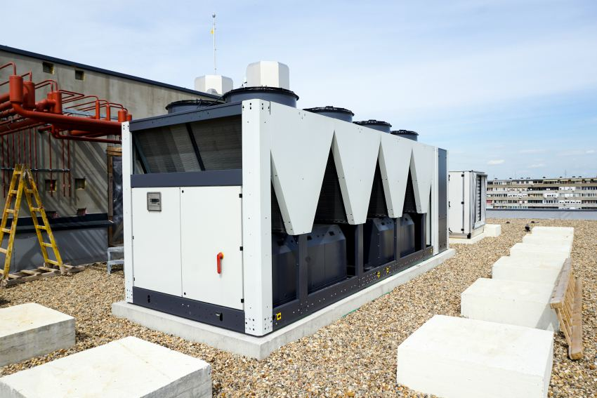 air conditioning chiller vrf options modular refrigerant