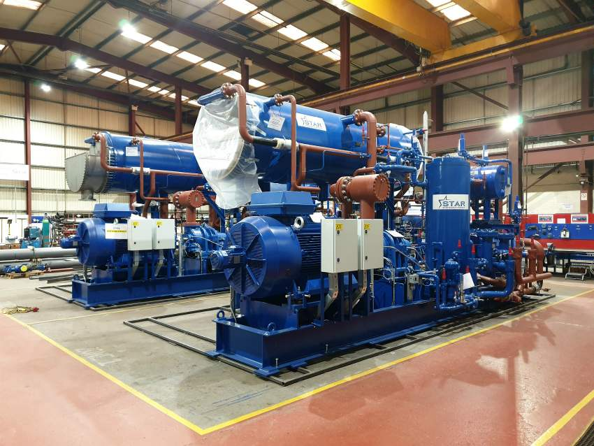 water source heat pump district heating clydebank scotland