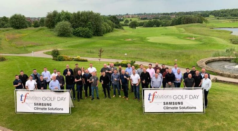 air conditioning refrigeration golf day charity TF Solutions Samsung