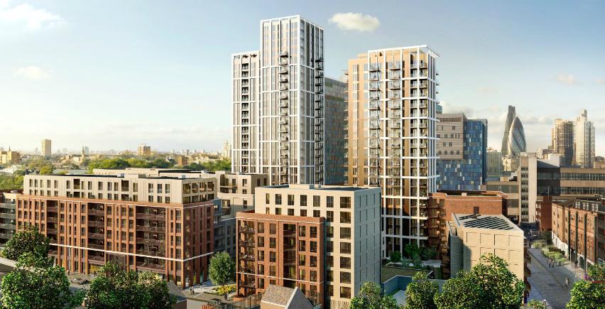 silk district whitechapel london development MVHR building services