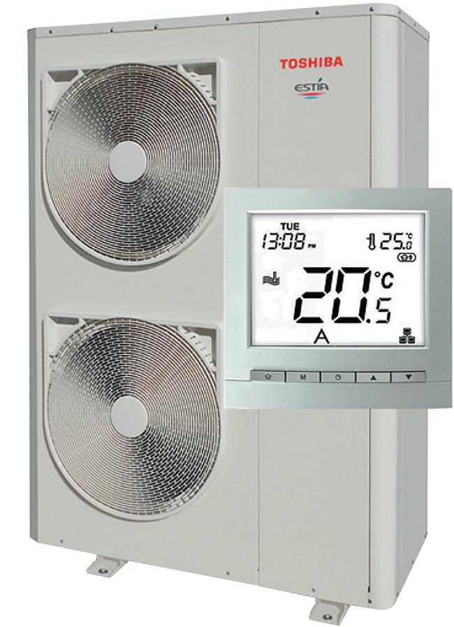 air to water heat pump monobloc energy efficiency
