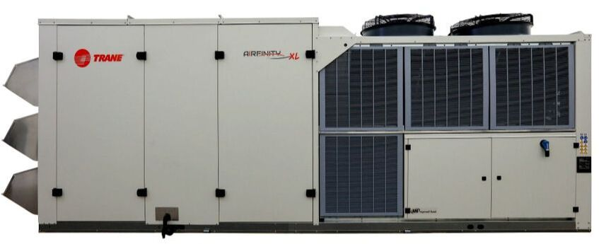 HVAC rooftop unit heat pump cooling only