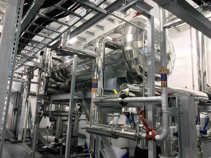 industrial refrigeration refrigerant ammonia cooling potato food