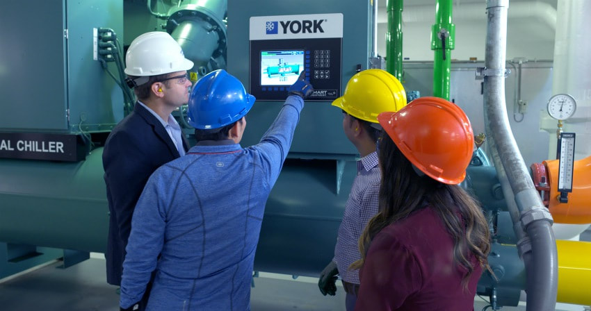york hvac chiller changes f-gas refrigeration absorption chiller climate change energy