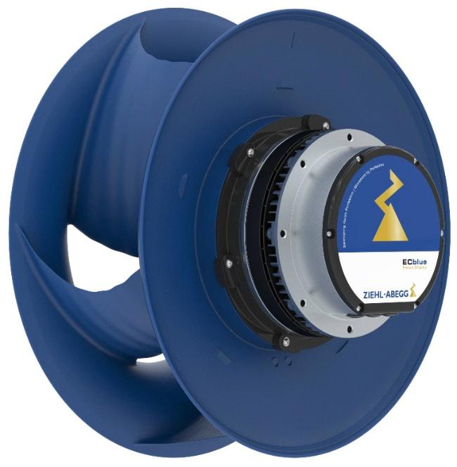 ec fan centrifugal air conditioning HVAC energy efficiency germany EU Europe