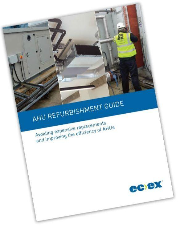 AHU condensing unit condenser HVAC air conditioning refrigeration maintenance refurbishment savings