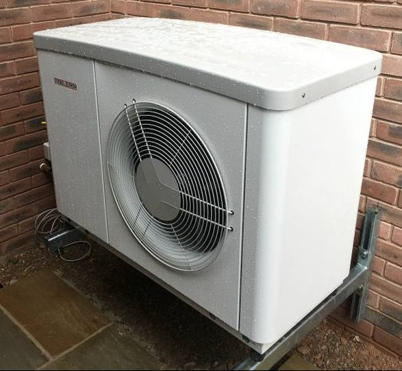 air source heat pump new build