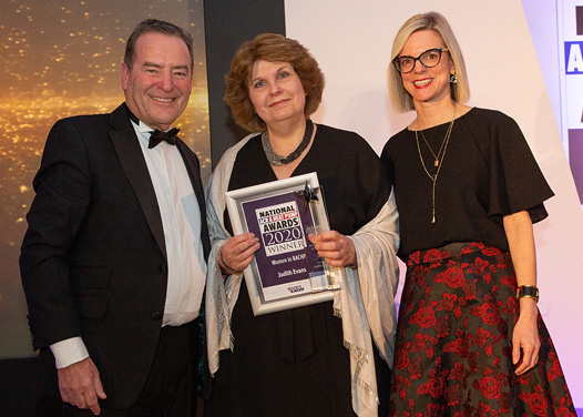 Judith Evans, ACR Woman of the Year