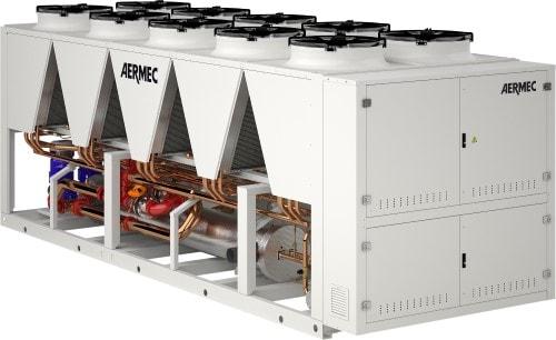 Aermec NMSE hybrid chiller