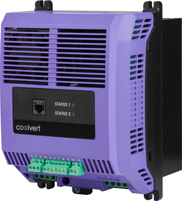 The new Coolvert from Invertek Drives