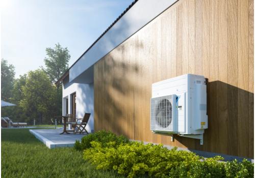 Daikin's hybrid systems work alongside a gas boiler